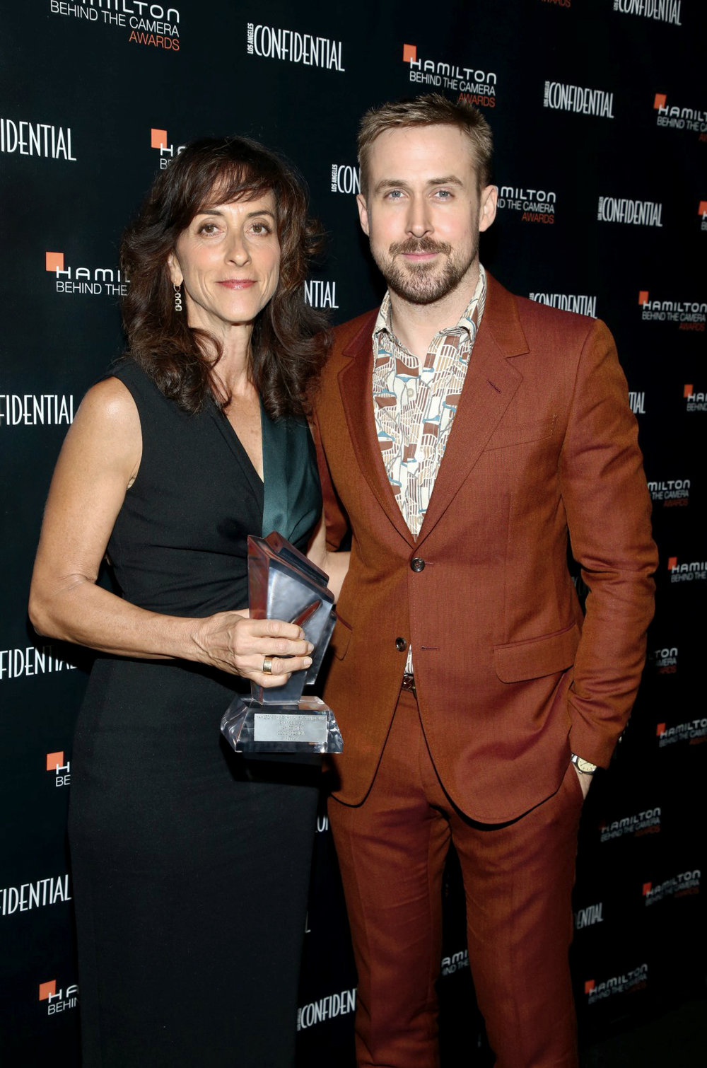 Hamilton Behind the Camera Awards 2018 - Mary Zophres & Ryan Gosling - Backstage.