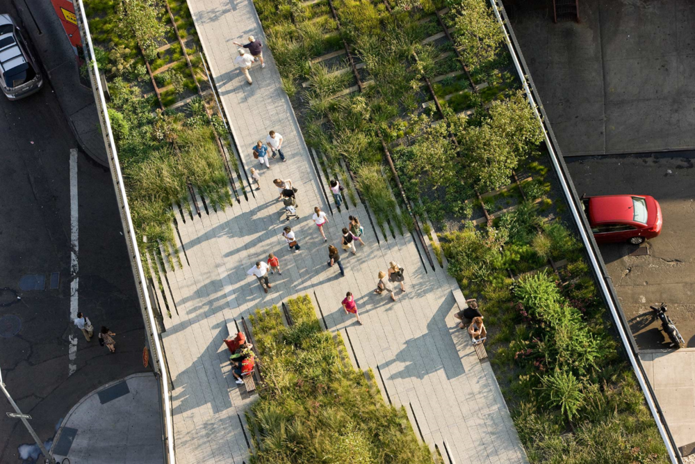 Highline Aerial, Credit Friends of the High Line