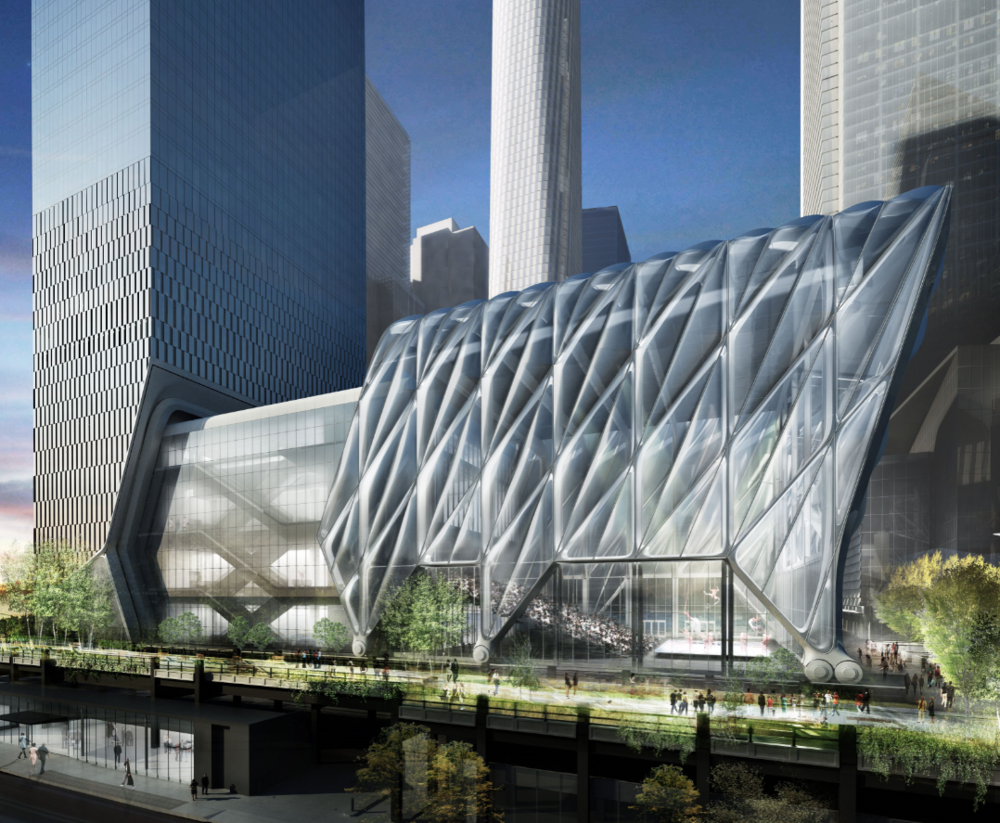 The Shed, Credit Diller Scofidio and Renfro