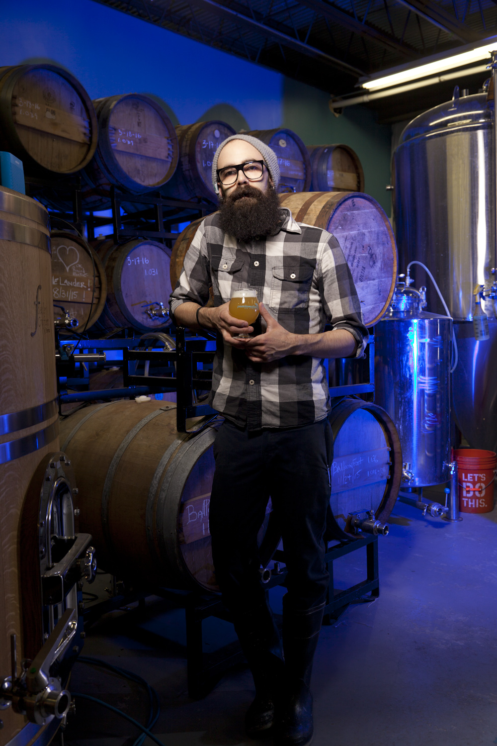 Cheyne Tessier, Brewer at Proclamation Ale Co. West Kingston, RI Established in 2014