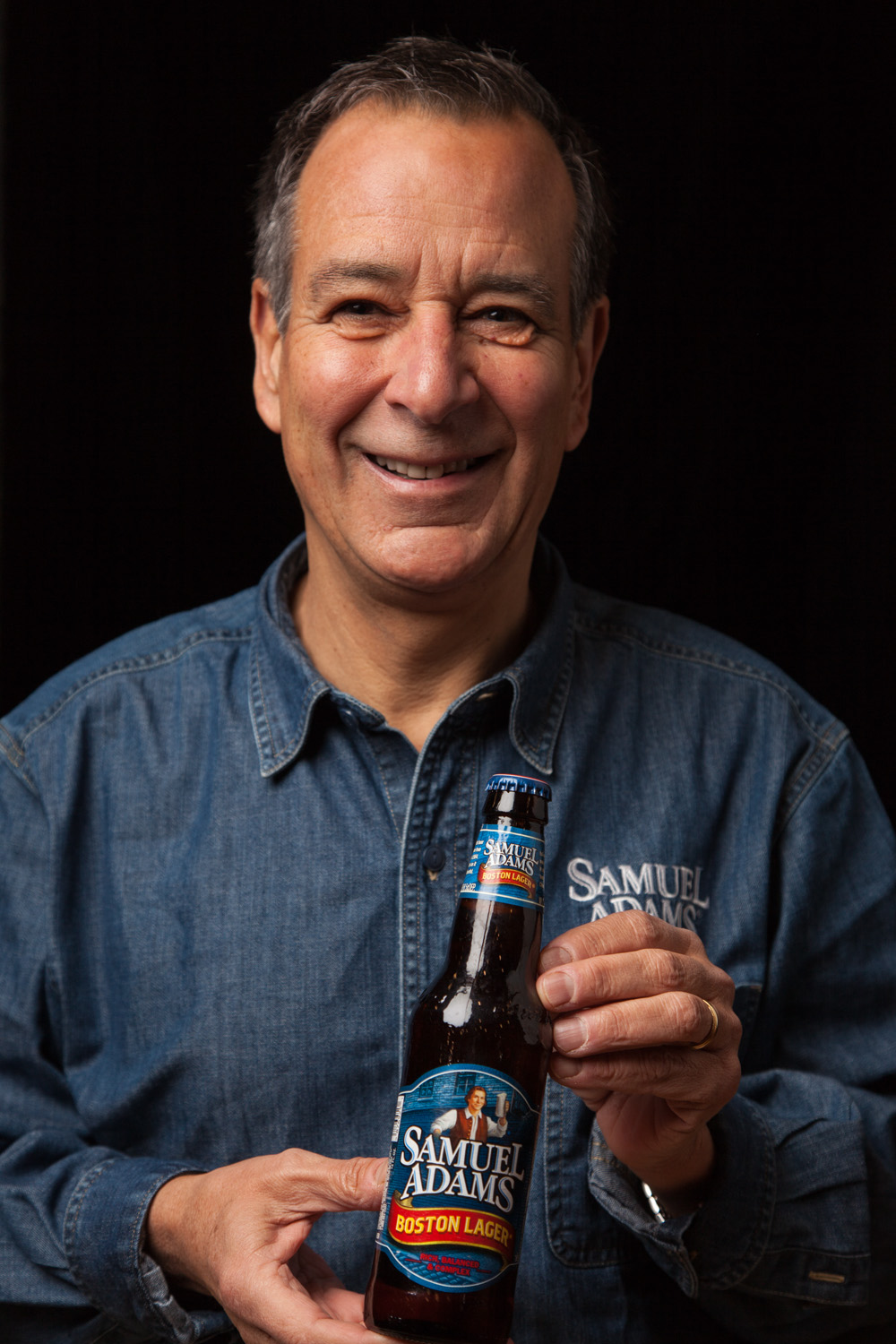 Jim Koch, Founder and Chairman of the Boston Beer Co. Boston, MA Established in 1984