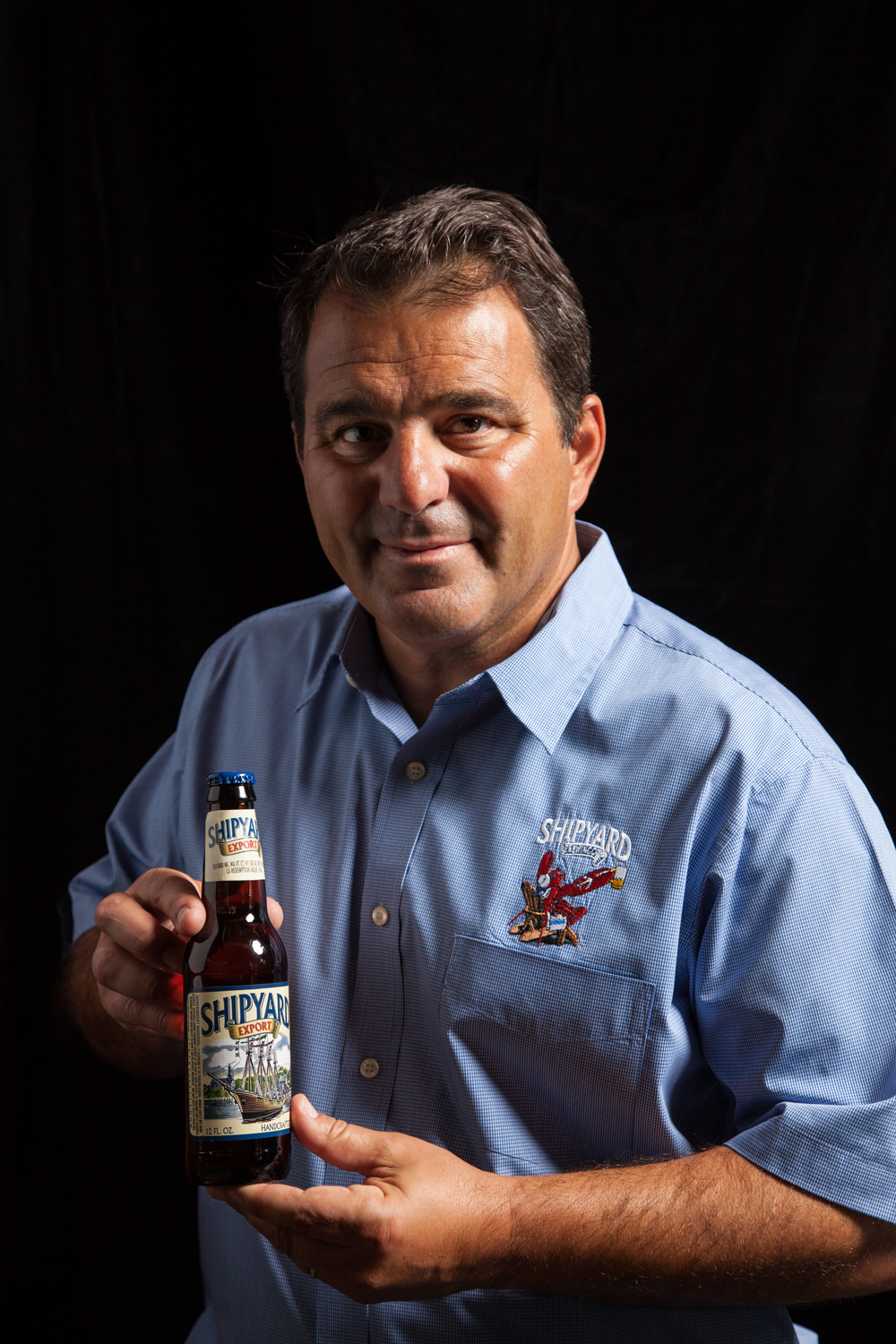 Fred Forsley, Owner of Shipyard Brewing Co. Portland, ME Established in 1994