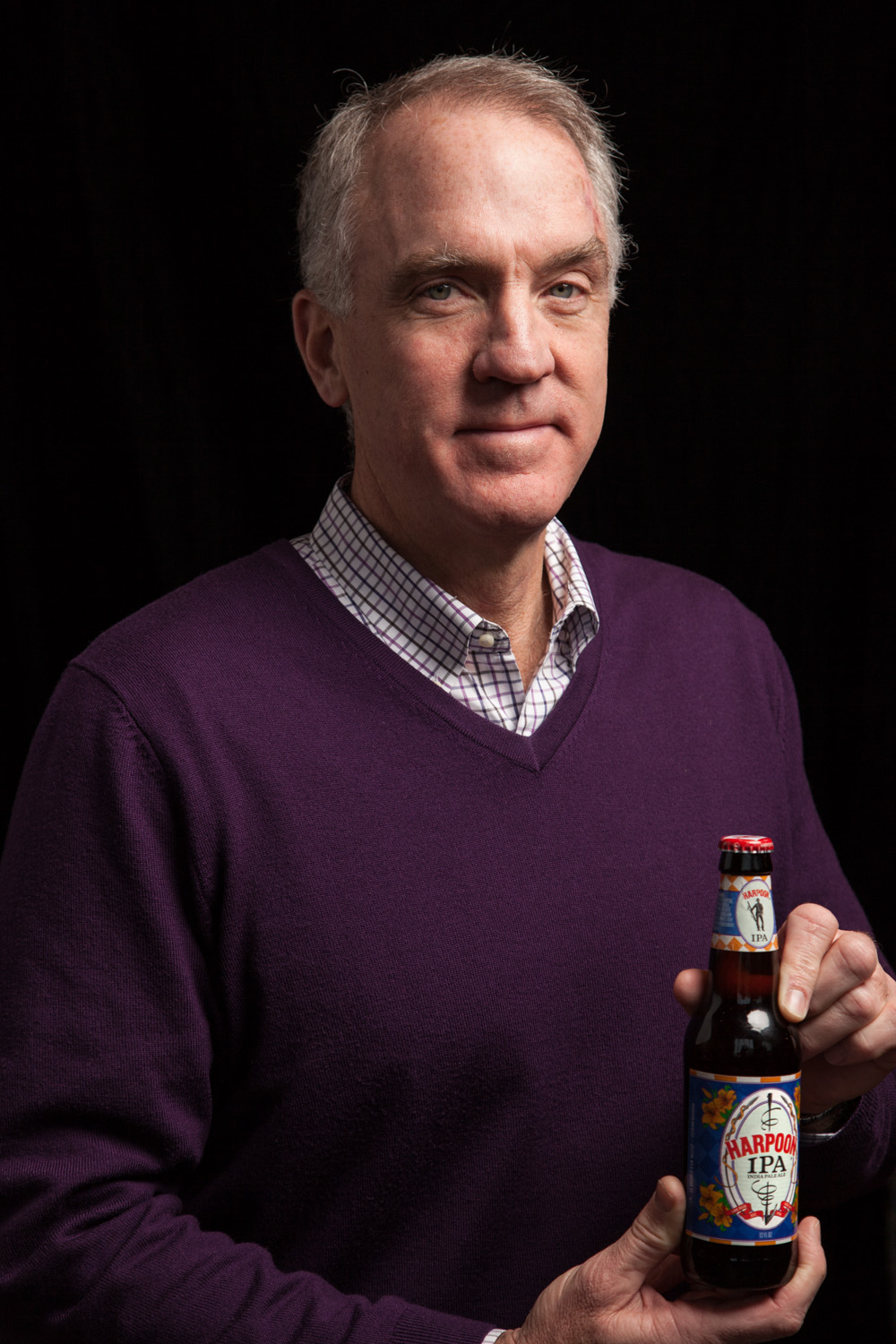 Dan Kenary, Founding Partner of Harpoon Brewery, Boston, MA Established in 1987
