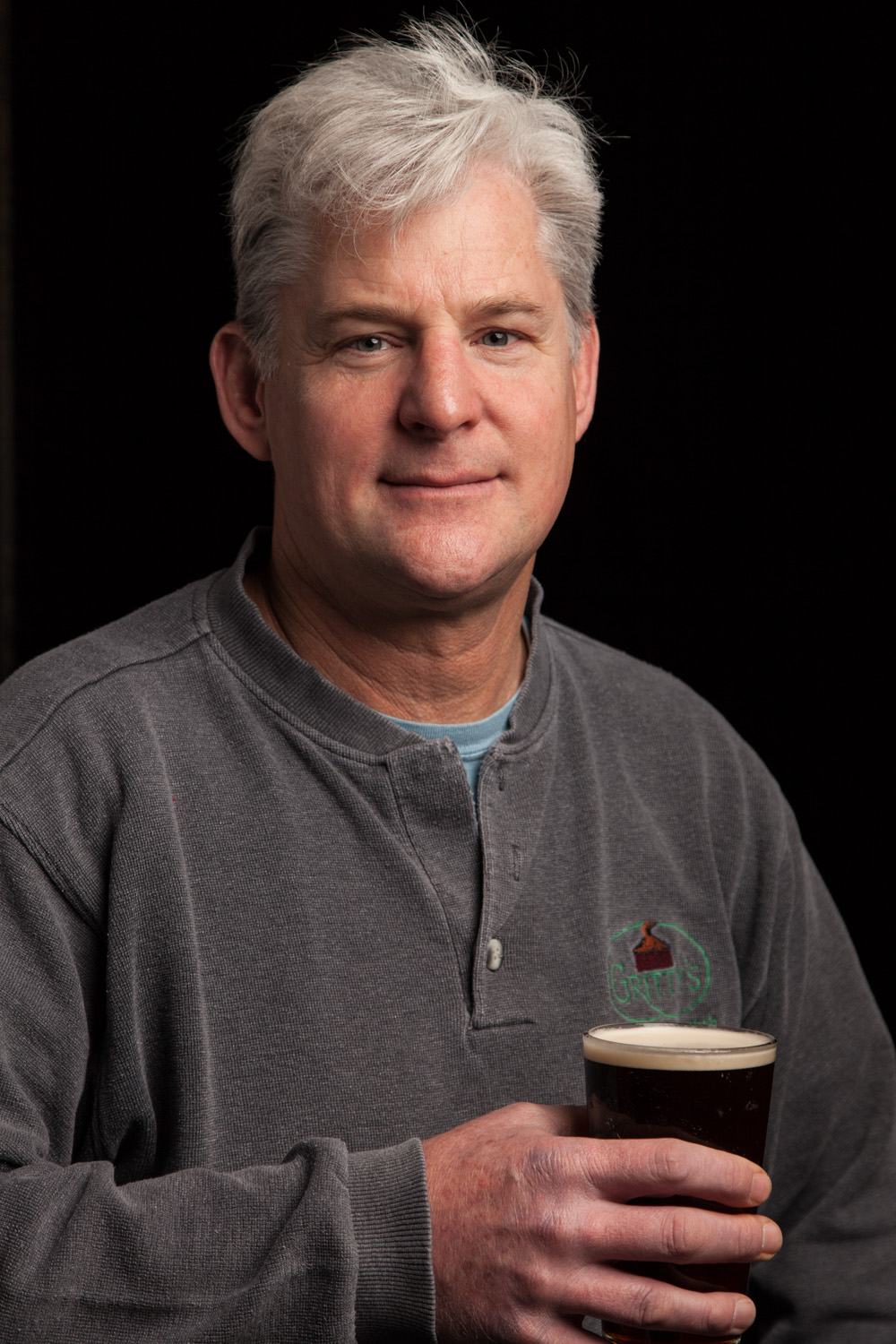 Richard Pfeffer, Founding Partner of Gritty McDuffs in Portland, ME Established in 1988