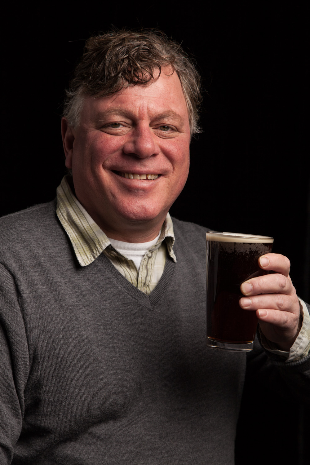 Ed Stebbins, Founding Partner of Gritty McDuffs in Portland, ME Established in 1988