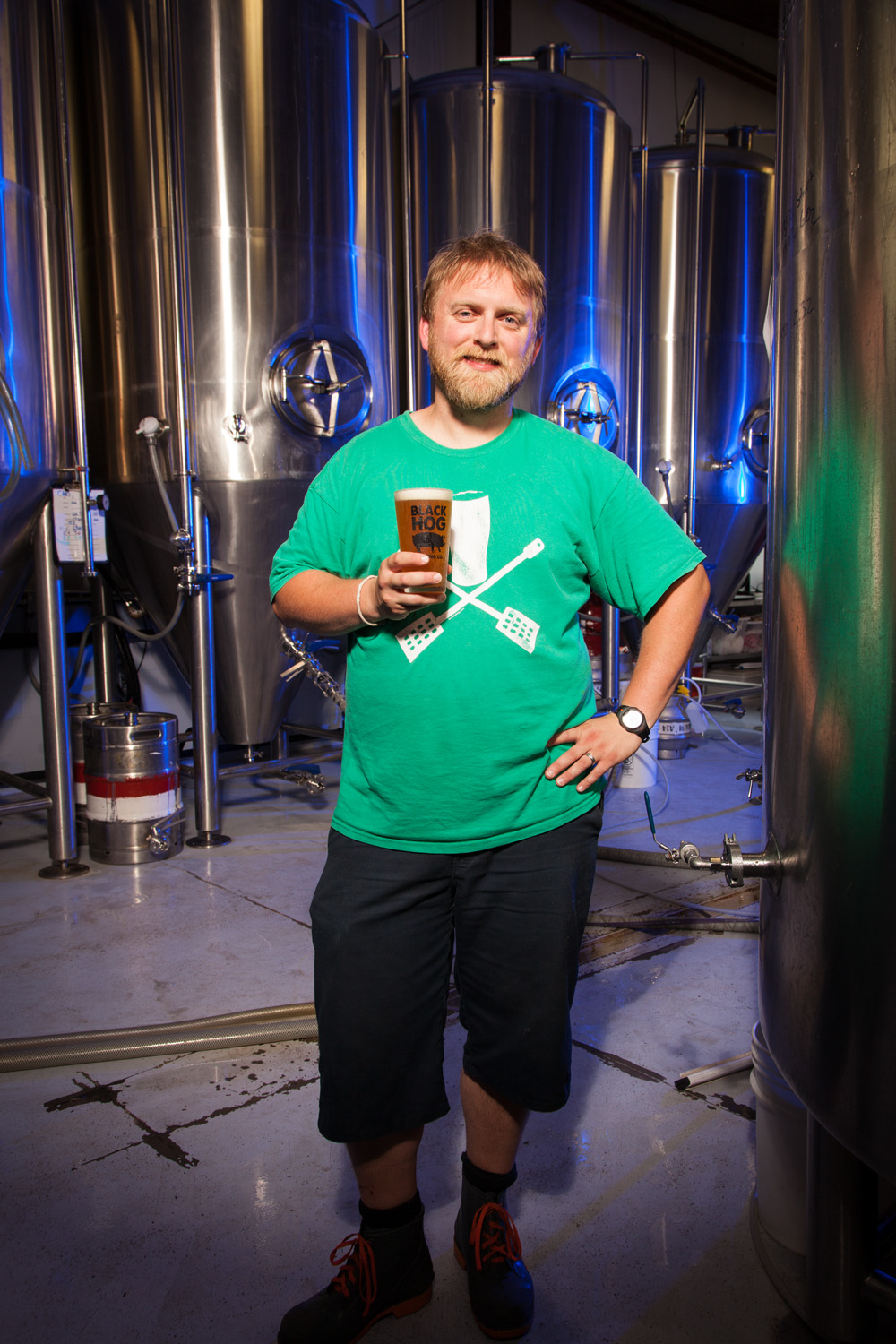 Tyler Jones, Brewmaster Black Hog Brewing Co. Oxford, CT Established in 2014