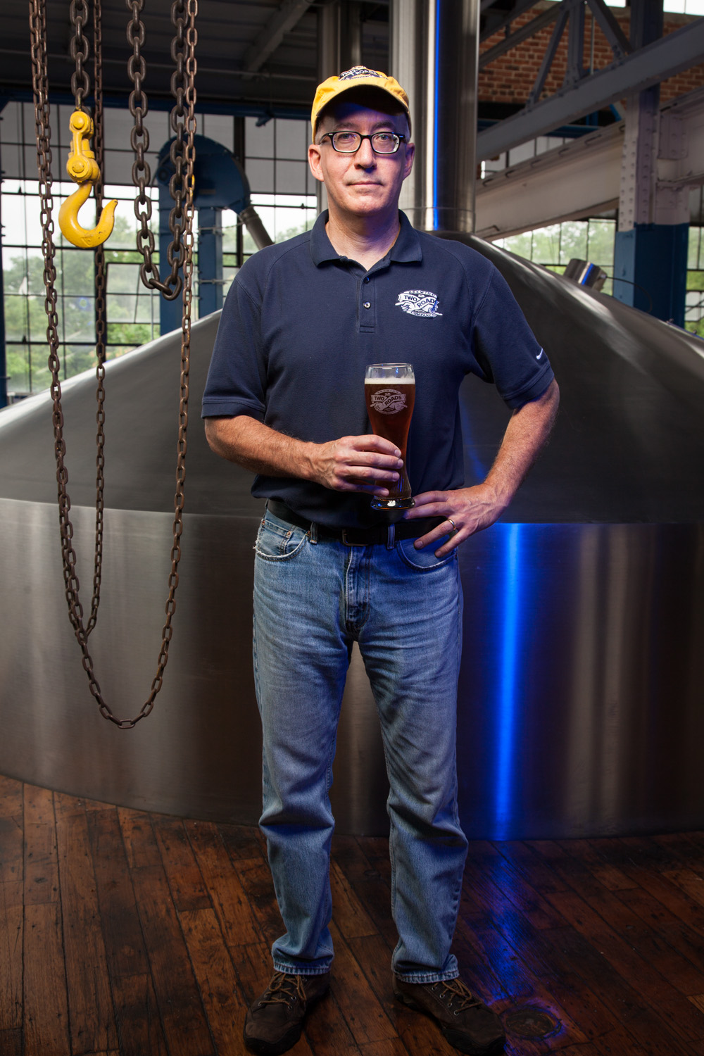 Phil Markowski, Brewmaster at Two Roads Brewing Co. Stratford, CT Established in 2012