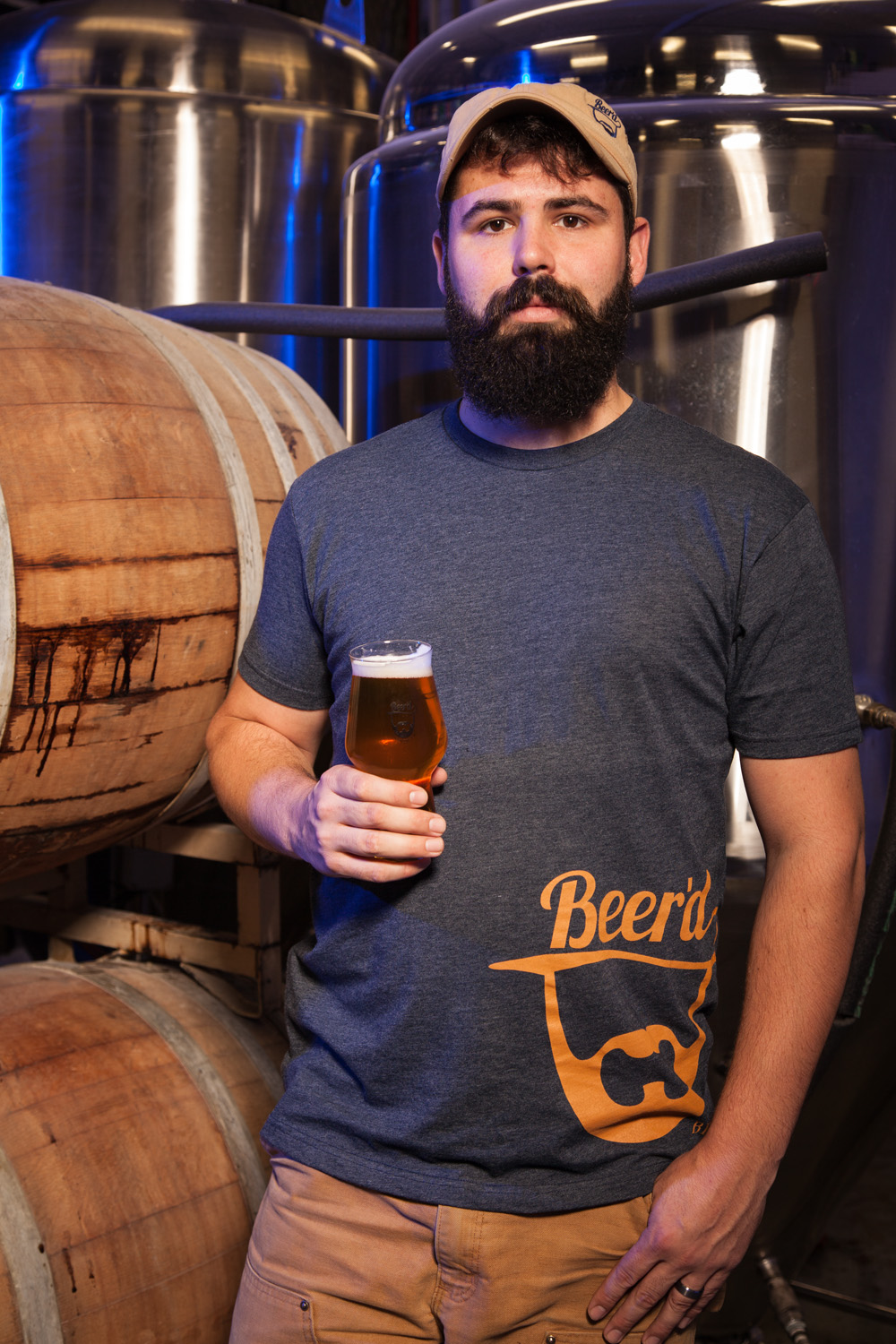 Aaren Simoncini, Brewmaster Beer'd Brewing Co. Stonington, CT Established in 2011