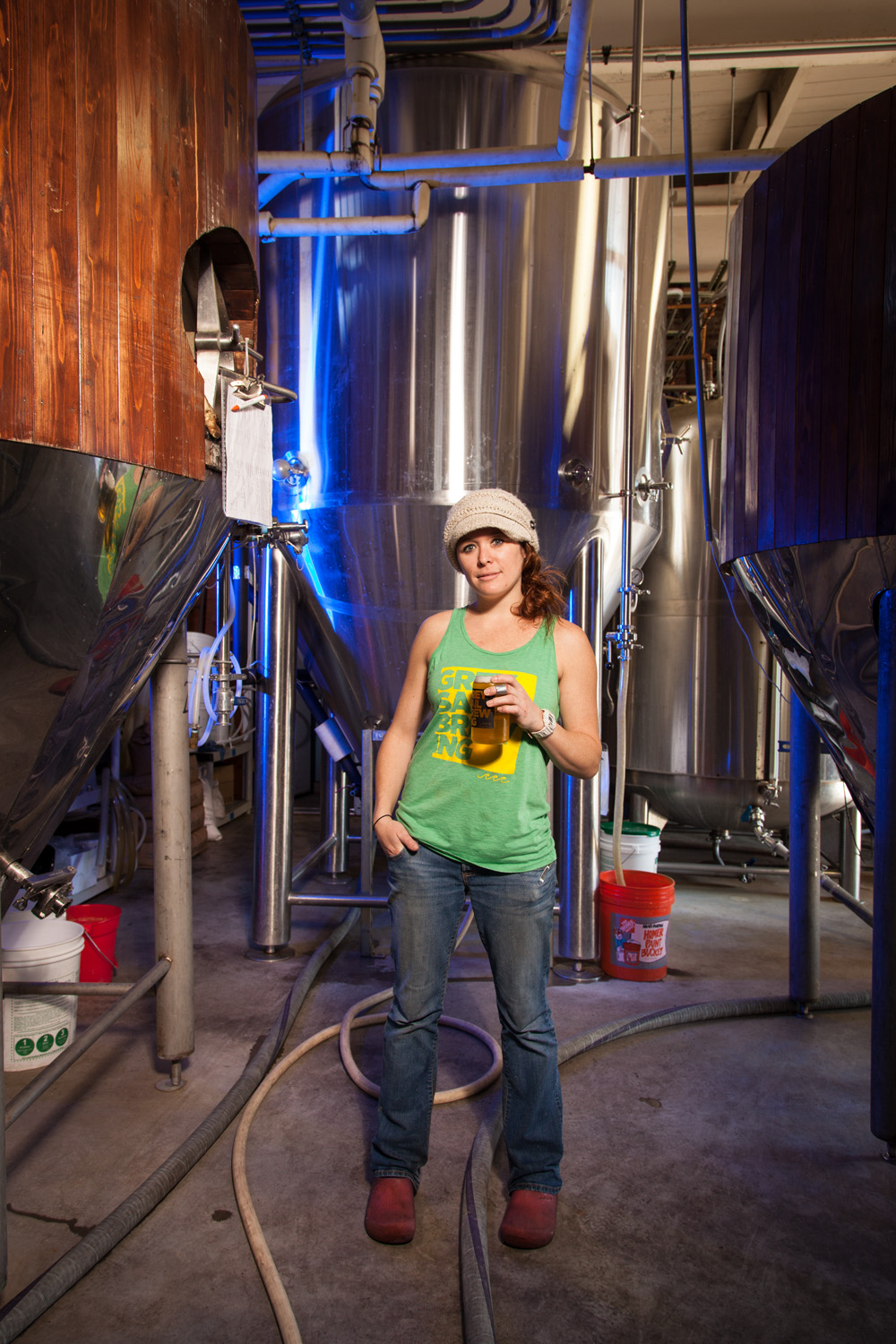Michelle Kirms, Assistant Brewer at Grey Sail Brewing Co. Westerly, RI Established in 2011