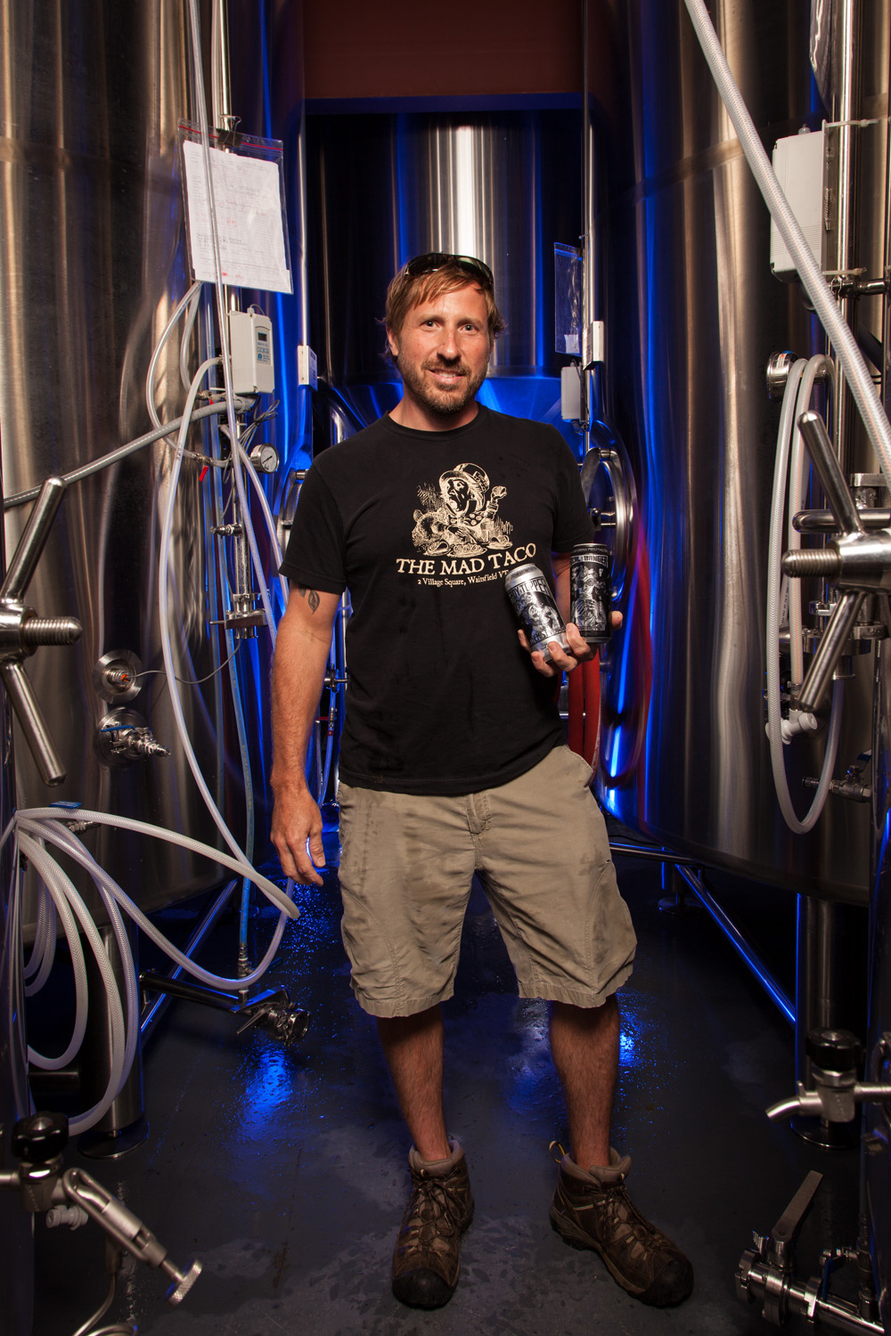 John Kimmich, Brewmaster at the Alchemist Brewery in Waterbury, VT Established in 2003