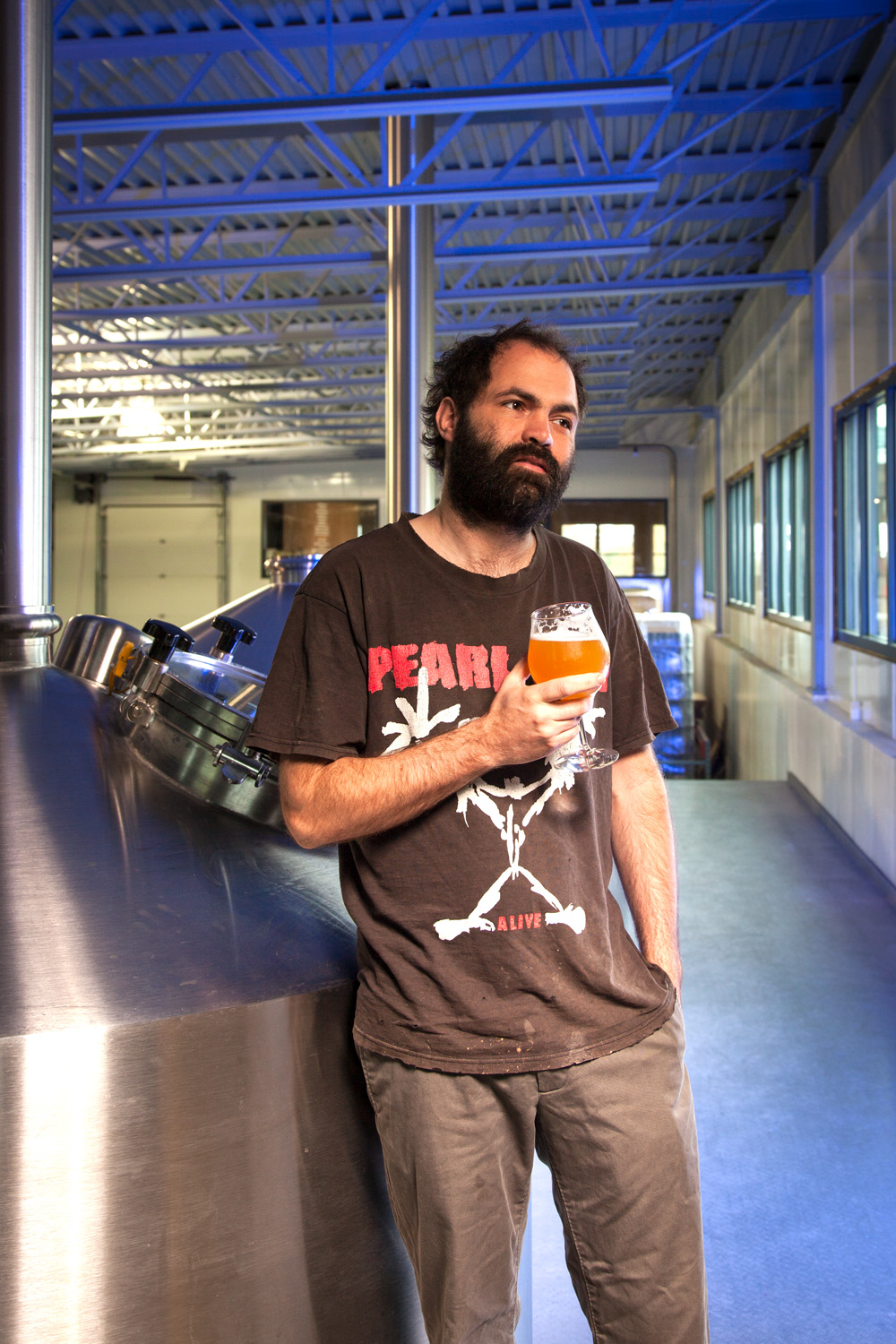 Shaun Hill, Brewmaster at Hill Farmstead Greensboro Bend, VT Established in 2010