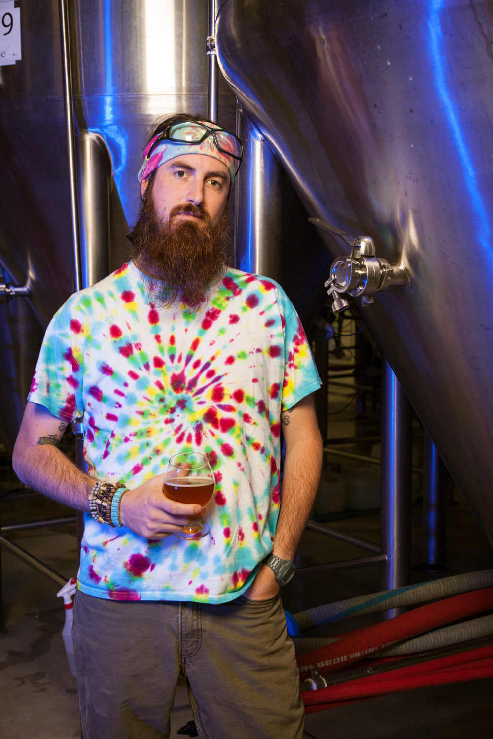 Mike Gerhart, Brewmaster at Otter Creek Brewing Co. Middlebury, VT Established in 1991