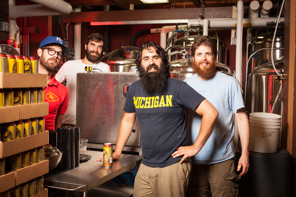 Hermit Thrush Brewery, Brattleboro, VT Established in 2014. Zach Svoboda, Brewmaster Chris Gagne, Avery Schwenk and Koby Schwayder