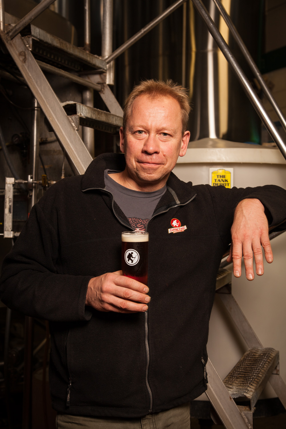 Dave Hartman, Brewmaster at Long Trail Brewing Co. Bridgewater Crossing, VT Established in 1989