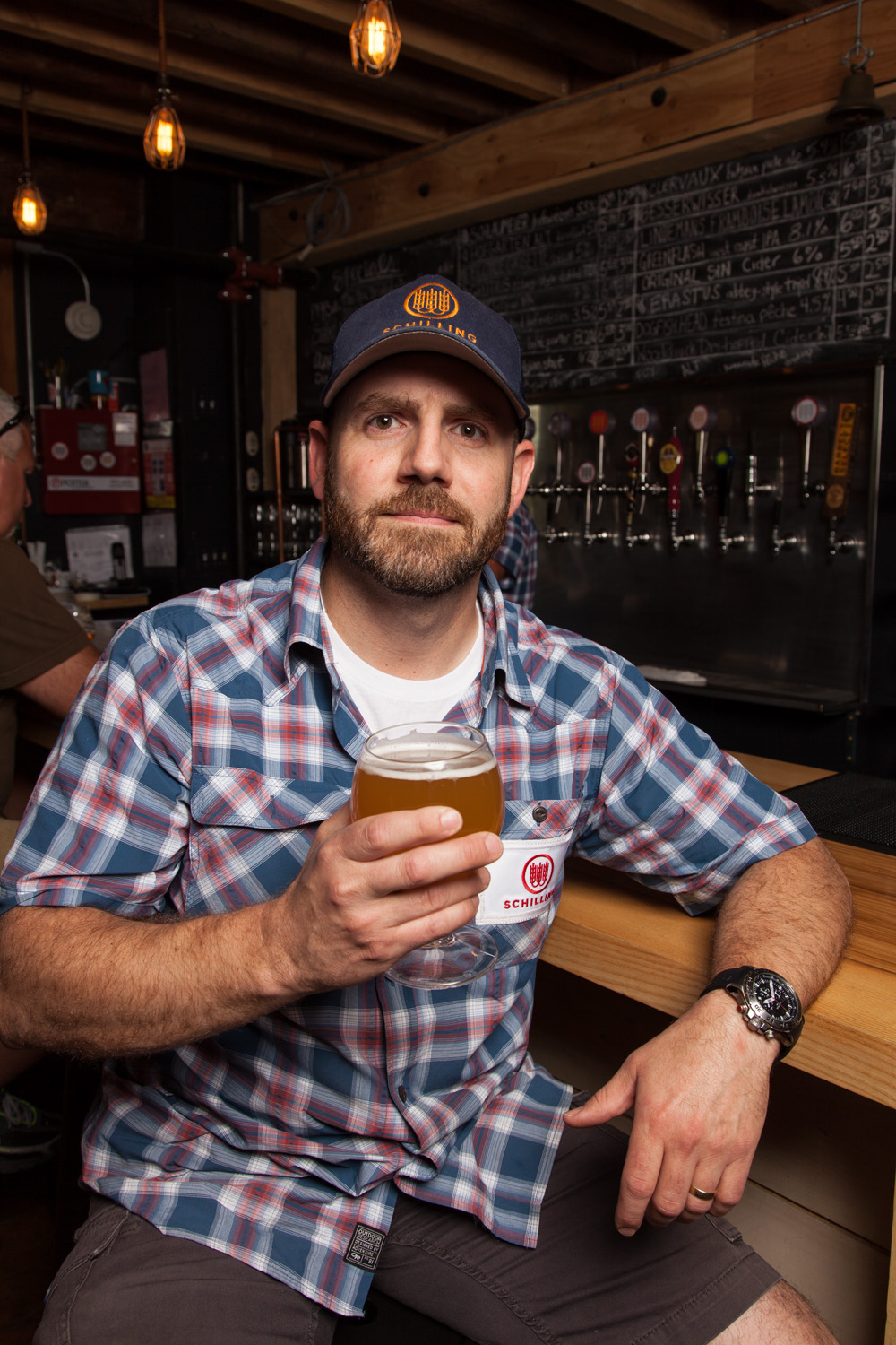 John Lenzini, Brewmaster at Schilling Beer Co. Littleton, NH Established in 2013