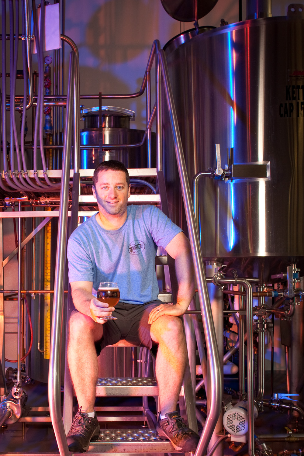 Peter Beauregard, Brewmaster at Stoneface Brewing Co. Newington, NH Established in 2014