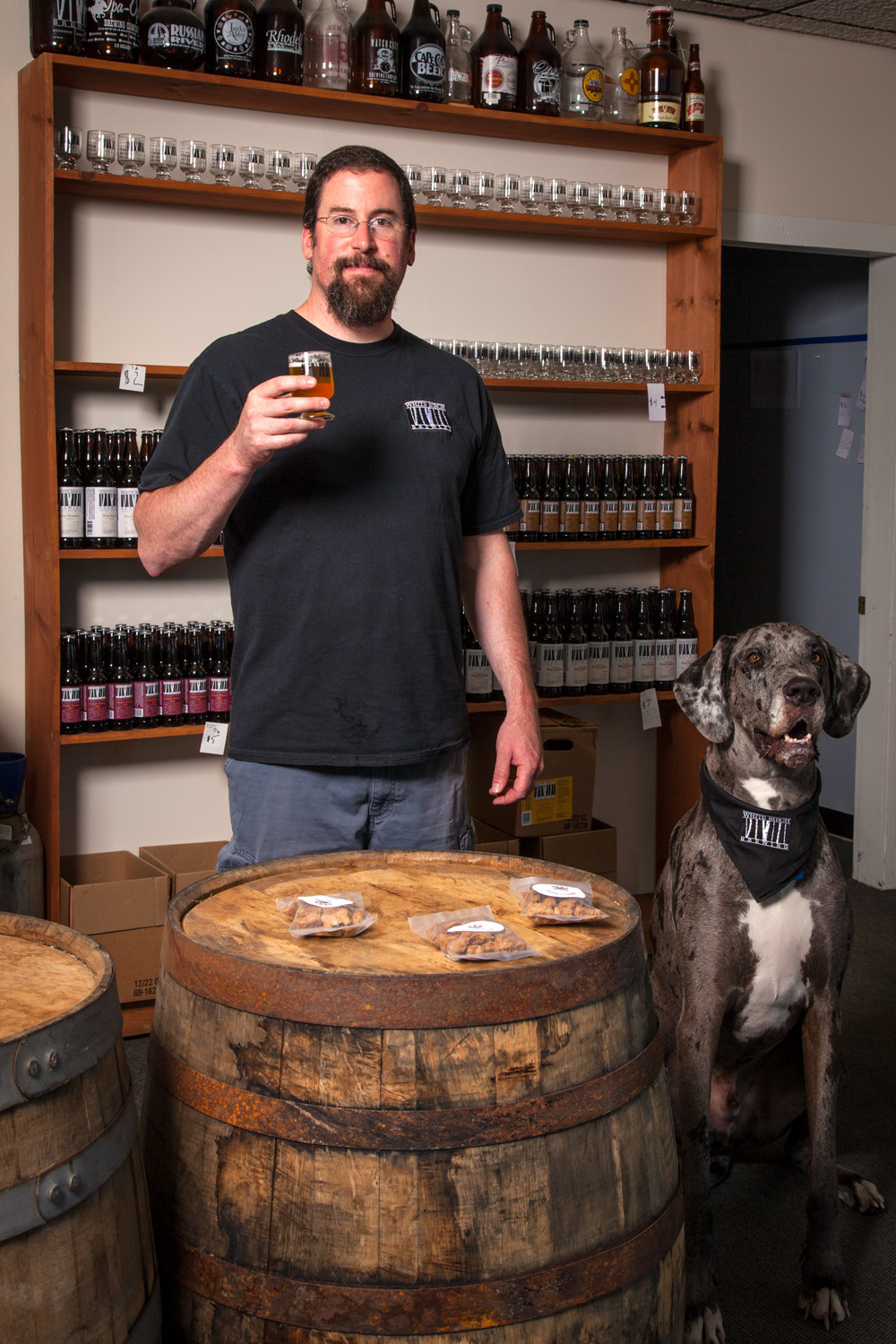 Bill Herlicka, Brewmaster at White Birch Brewing Hookset, NH Established in 2009