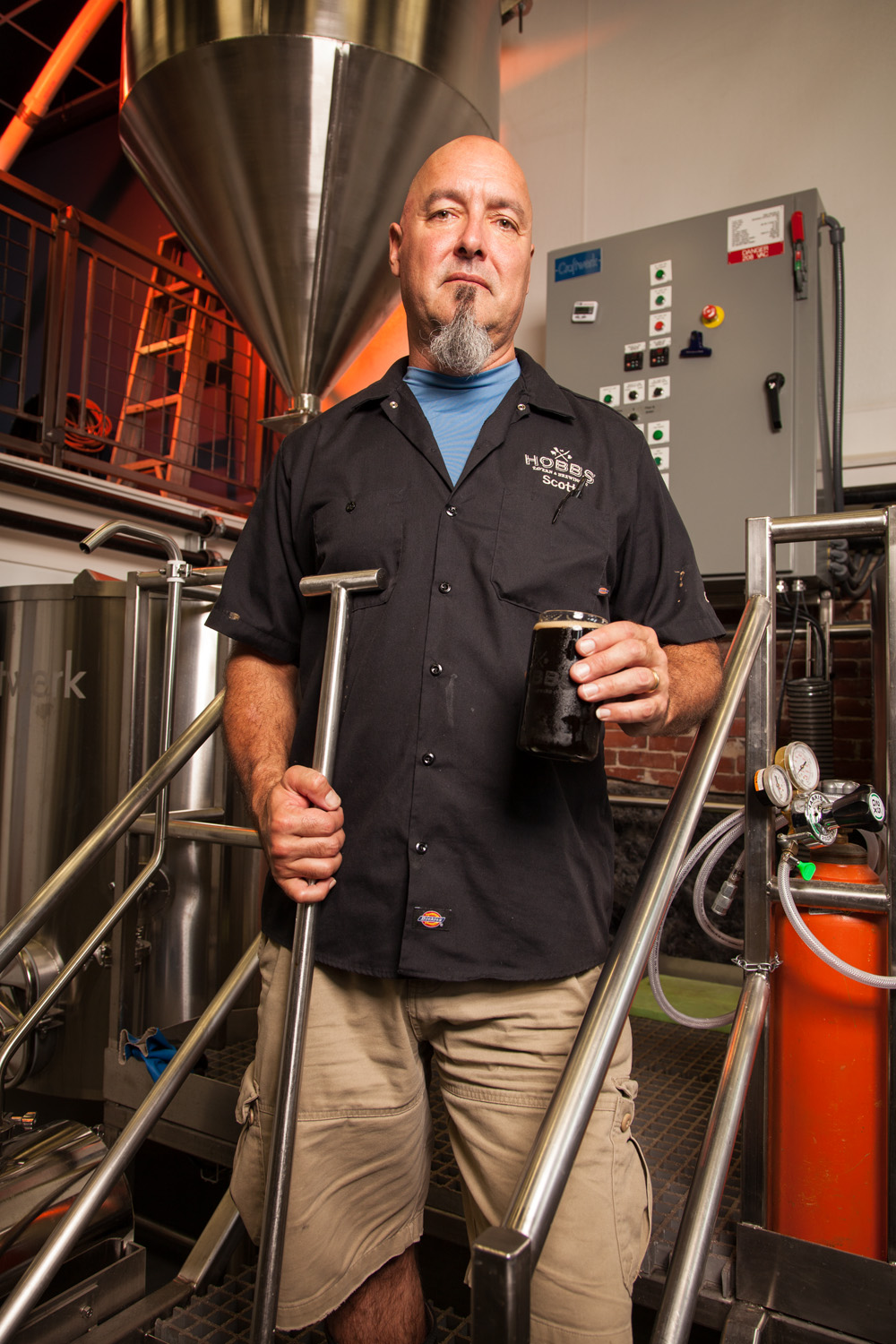 Scott Travis, Brewer at Hobbs Tavern and Brewery, West Ossipee, NH Established in 2014