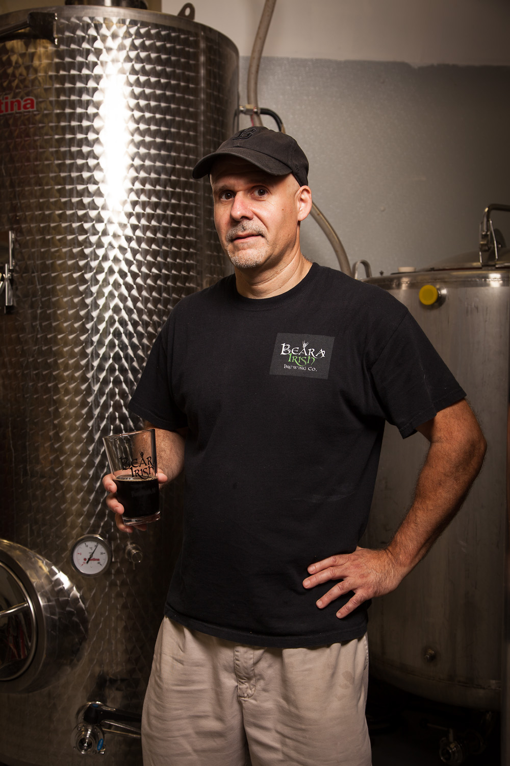 Mike Potorti, Founder and Brewmaster at Beara Irish Brewing Co. Portsmouth, NH Established in 2014