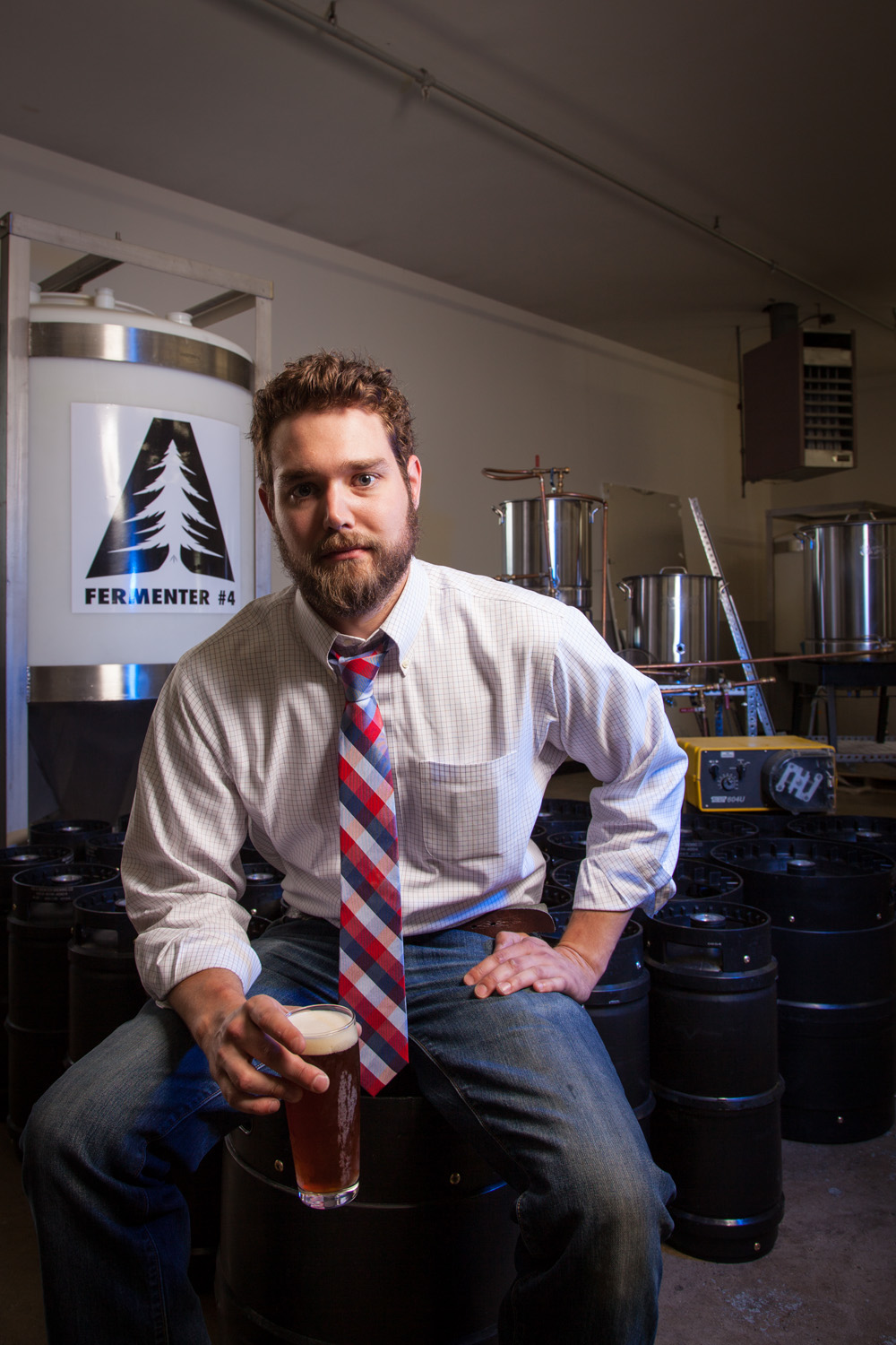 Carl Soderberg, Partner, Brewer at Able Ebenezer Brewing Co. Merrimack, NH Established in 2013