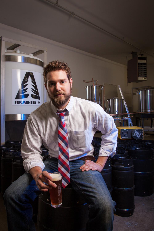 Carl Soderberg, Partner, Brewer at Able Ebenezer Brewing Co. Merrimack, NH Established in 2013