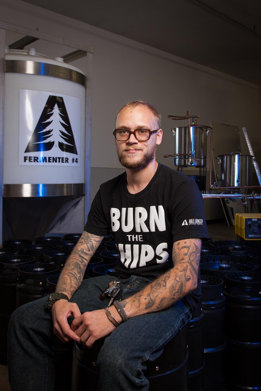 Jake Felton, Renaissance Man Able Ebenezer Brewing Co. Merrimack, NH Established in 2013