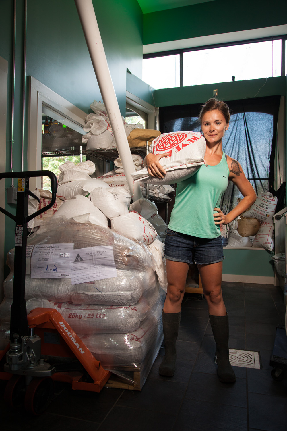 Nicole Gray, Head Brewer at Garrison City Beerworks Dover, NH Established in 2014