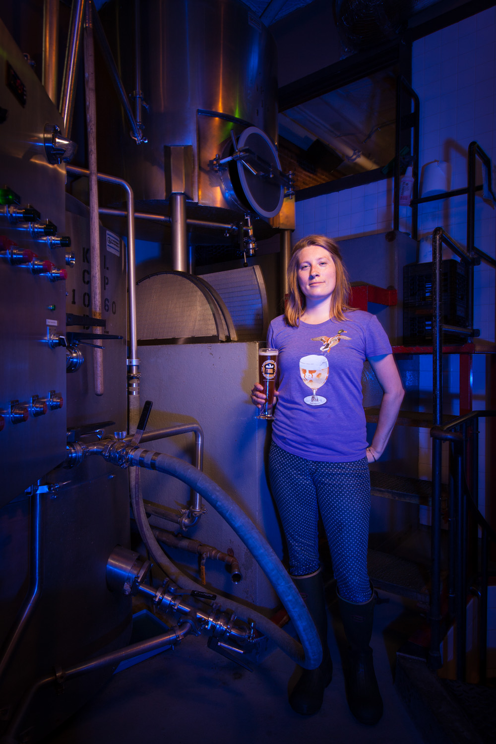 Maxine Munsey, Assistant Brewer Portsmouth Brewery Portsmouth, NH Established in 1991