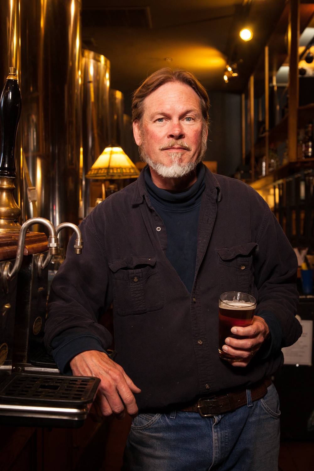 Tony Lubold, Brewmaster at Seven Barrel Brewery West Lebanon, NH Established in 1994