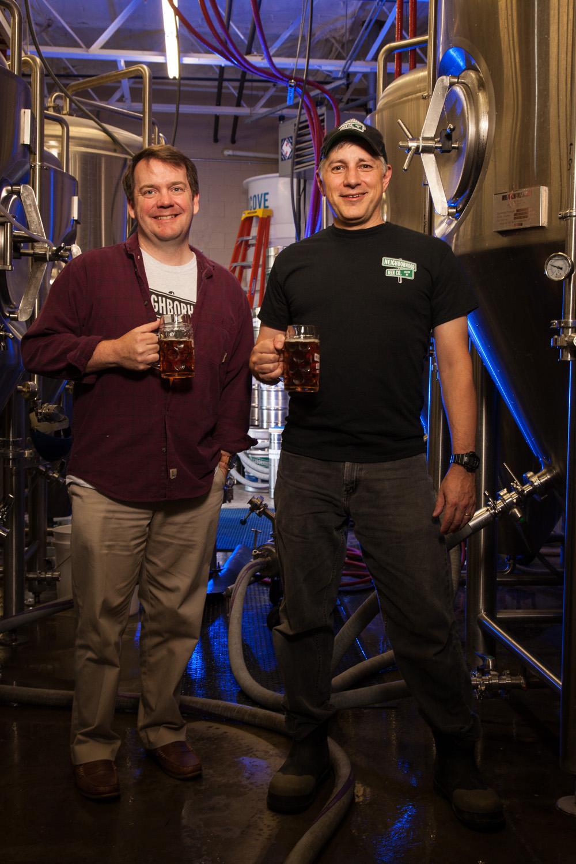 Tim Diaz, Partner and Joe Berwanger, President and Brewmaster Neighborhood Beer Co. Exeter, NH Established in 2015