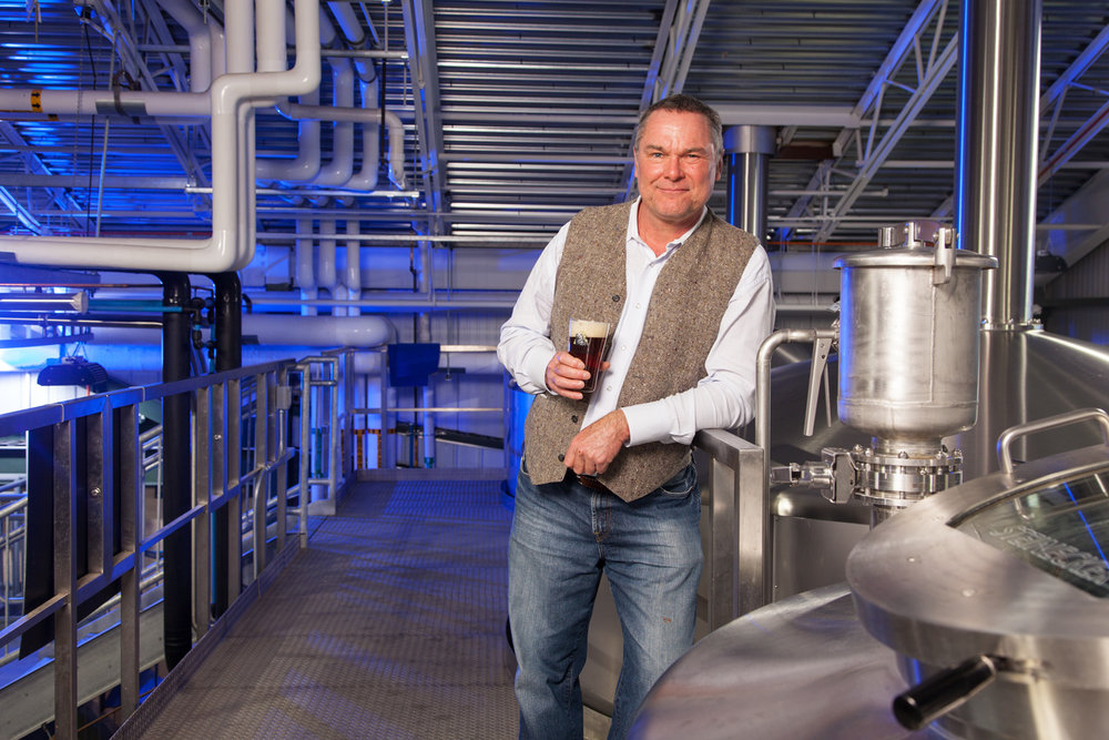 Peter Egelston, owner of the Portsmouth Brewery Portsmouth, NH Esatblished in 1991 and Smuttynose Brewing Co. Hampton, NH Established in 1994
