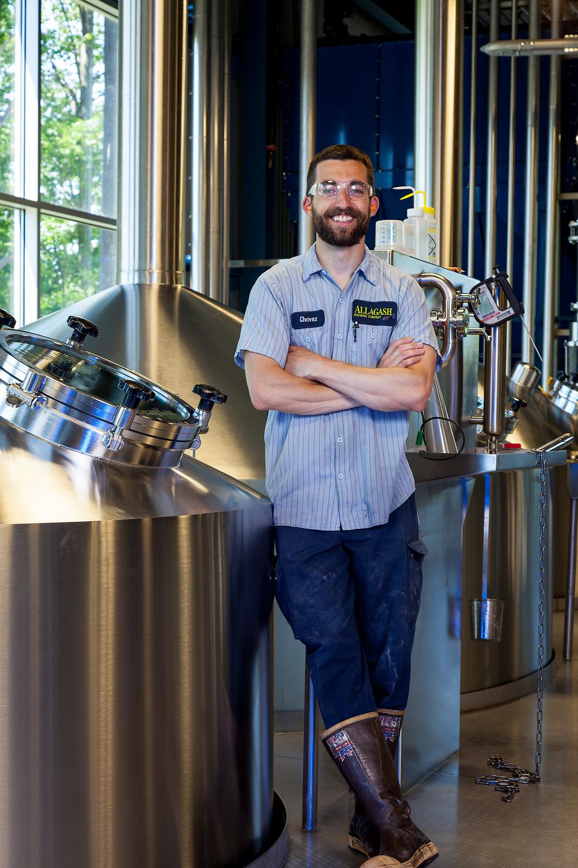 Patrick Chavanelle, Brewer Allagash Brewing Co. Portland, ME Established in 1995