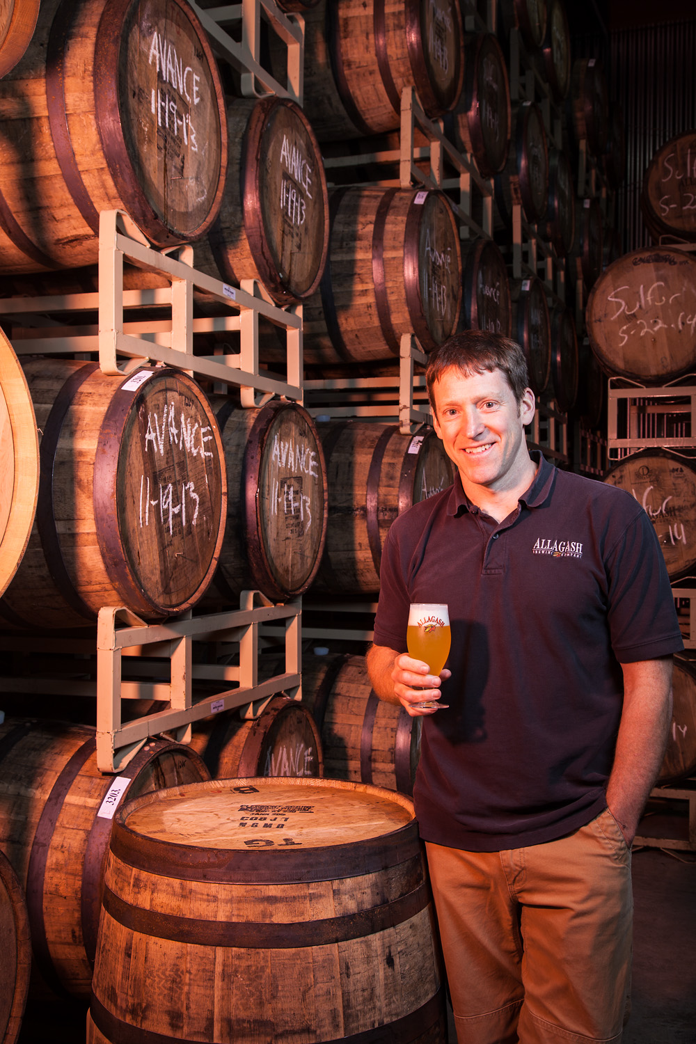 Jason Perkins, Brewmaster Allagash Brewing Co. Portland, ME Established in 1995
