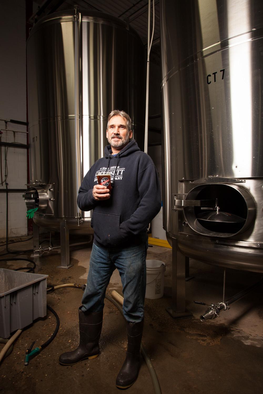 Stephen Spear, Head Brewer DL Geary Brewing Co. Portland, ME Established in 1986