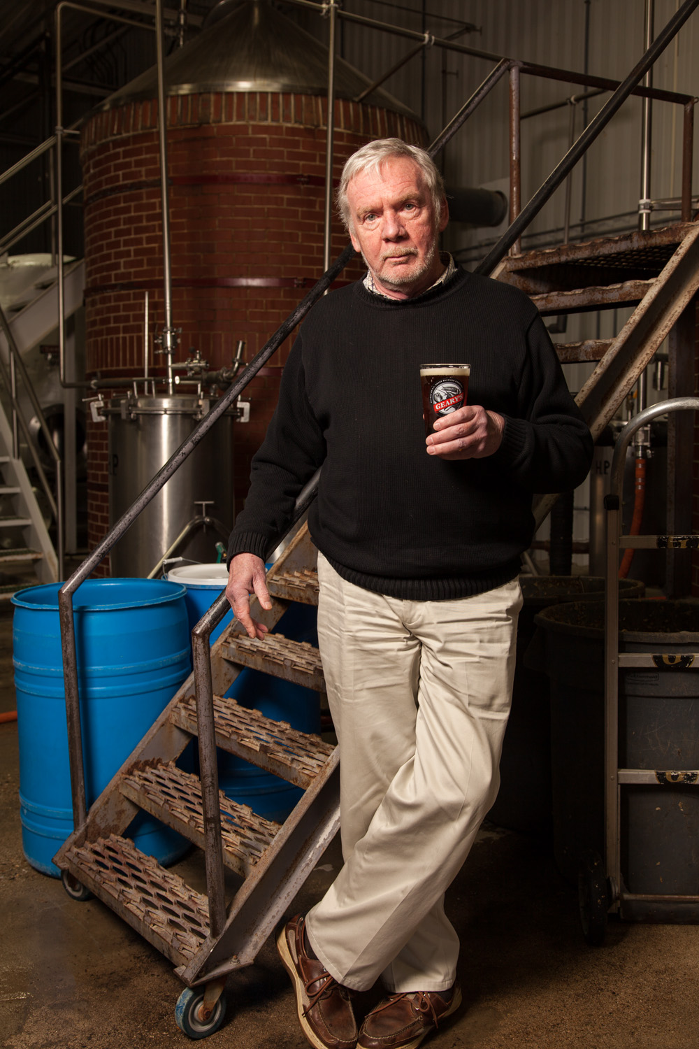 David L Geary, Brewmaster DL Geary Brewing Co. Portland, ME Established in 1986