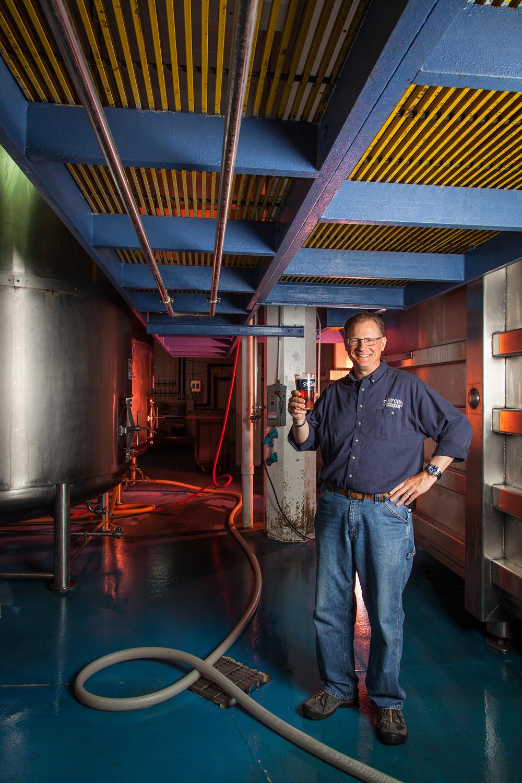 Bruce Elam, Brewer Shipyard Brewing Co. Portland, ME Established in 1994