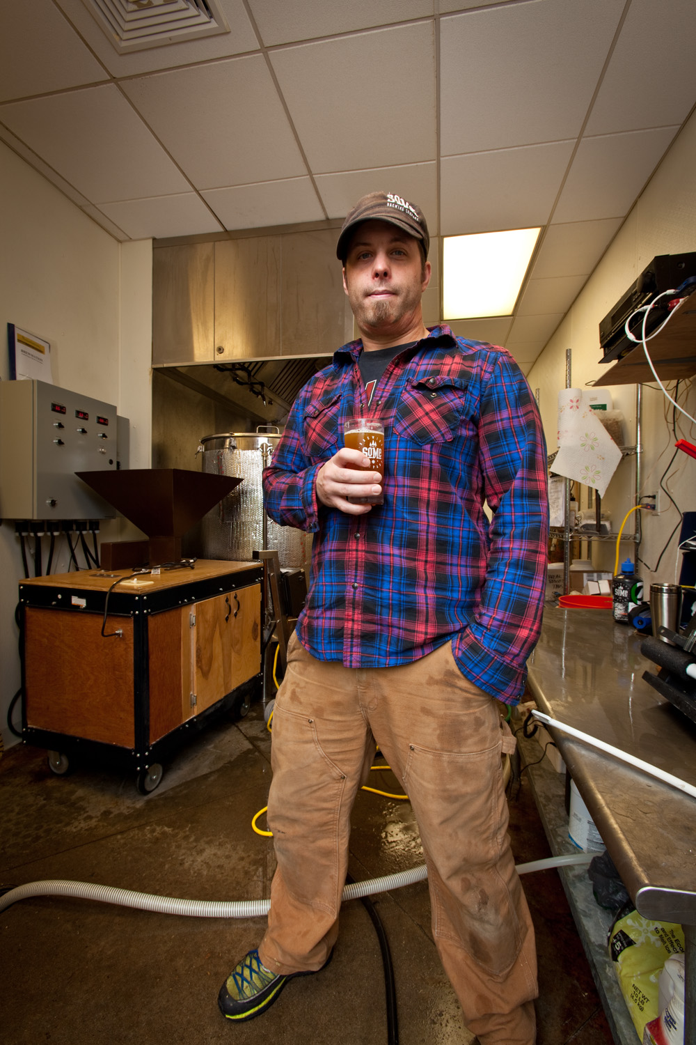 Dave Rowland, Brewmaster at SoMe Brewing Co. in York, ME Established in 2013