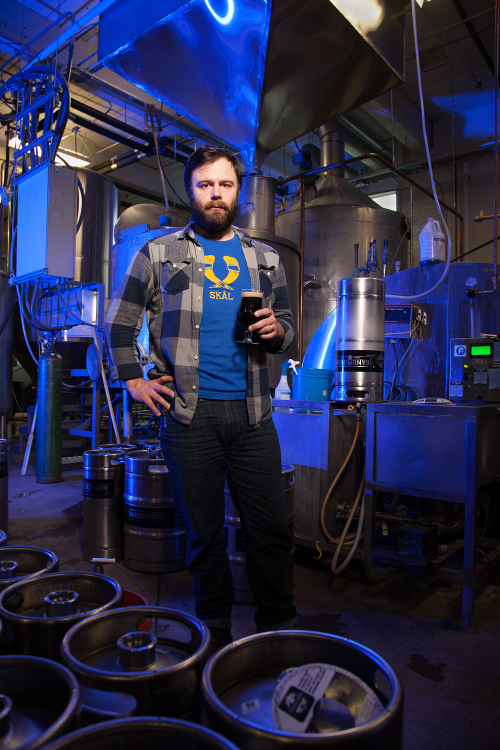 Ian McConnell, Brewmaster Banded Horn Brewing Co. Bidderford, ME Established in 2014