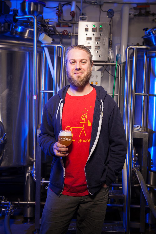 Joel Mahaffey, Brewmaster Foundation Brewing Co. Portland, ME Established in 2014