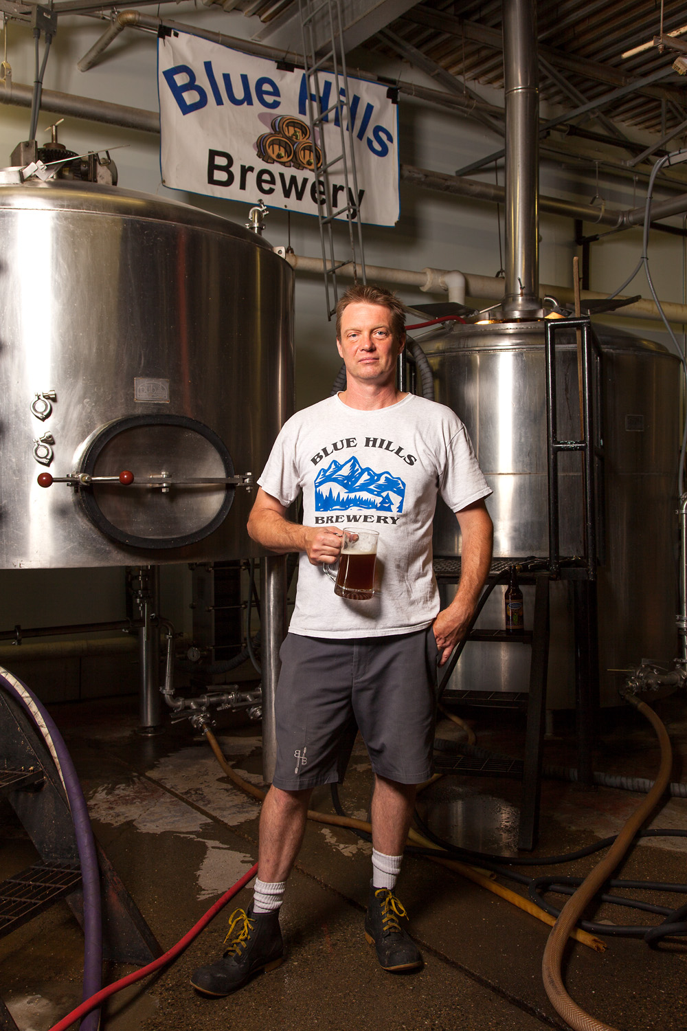 Andris Veidis, Brewmaster Blue Hills Brewery Canton, MA Established in 2009