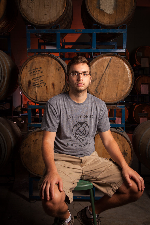 Rob Burns, Brewmaster Nightshift Brewing Co. Everett, MA Established in 2012