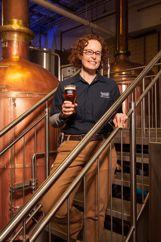 Megan Parisi, Head Brewer Samuel Adams Boston, MA Established in 1984