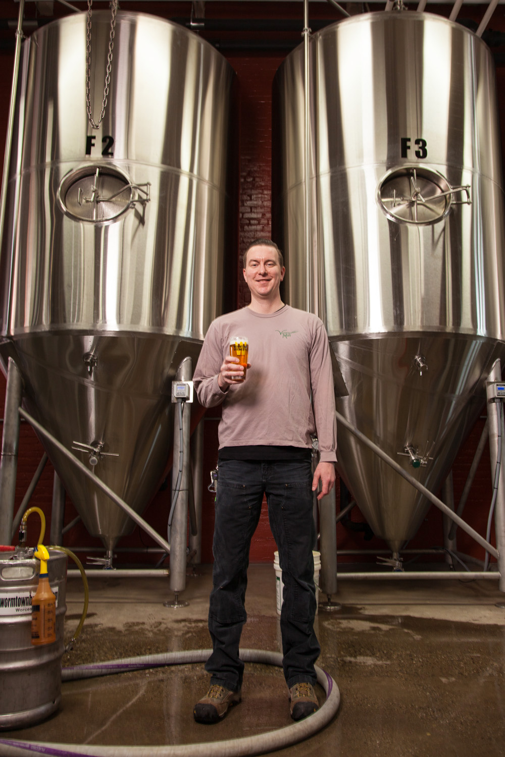 Ben Roesch, Brewmaster Wormtown Brewery Worcester, MA Established in 2010