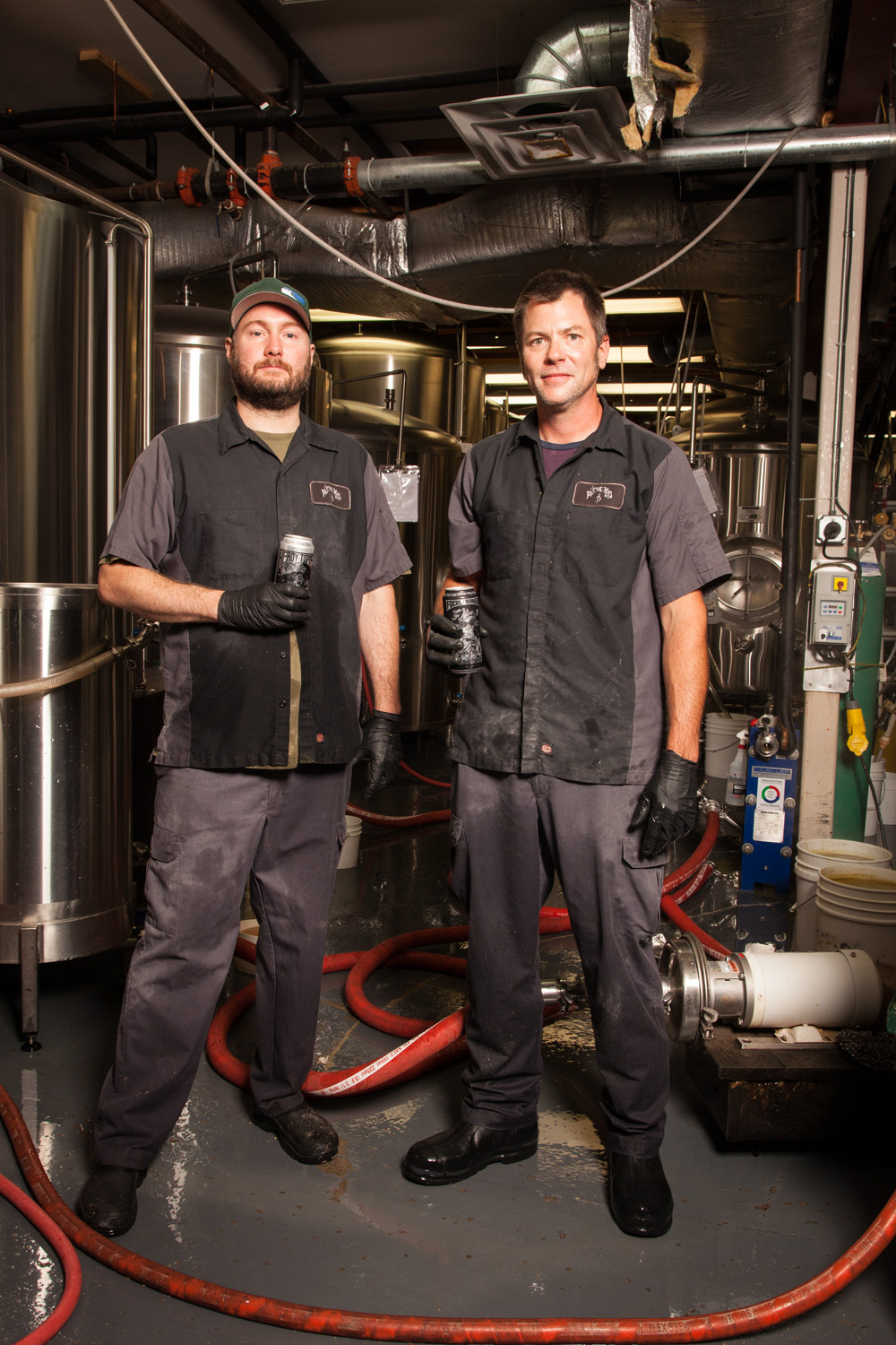 Jim Conroy, Lead Brewer and Jim Robinson, Brewer Alchemist Brewery Waterbury, VT Established in 2003