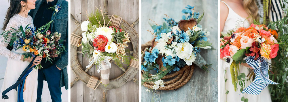 Nautical Bouquets