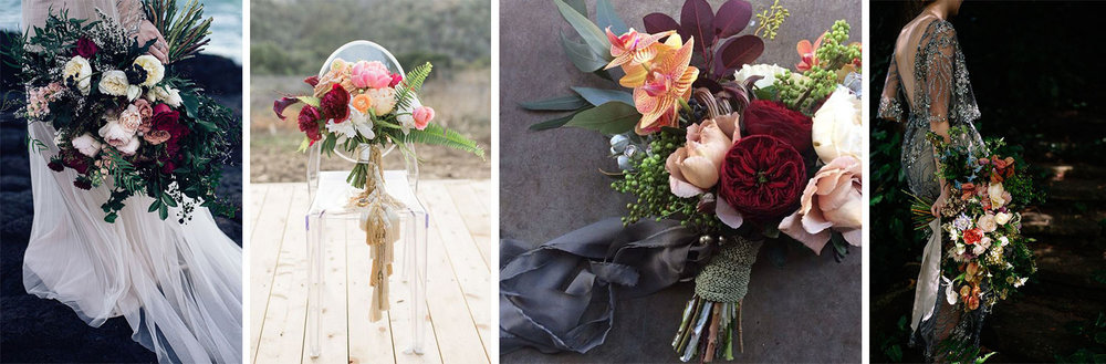 Richy Toned Bouquets