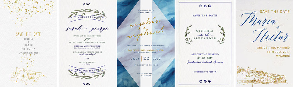 The wedding stationery by SilkenTile