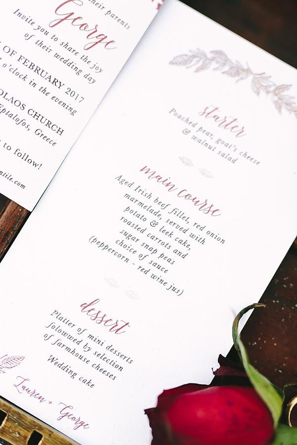 destination-wedding-greece-elatos-resort-burgundy-rose-berries-menu-wedding-stationery-decoration-luxury-chic-wedding-planning