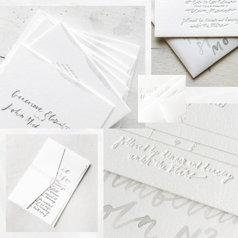 wedding-invitation-white-silver-emboss-minimal-calligraphy-greek-island-style