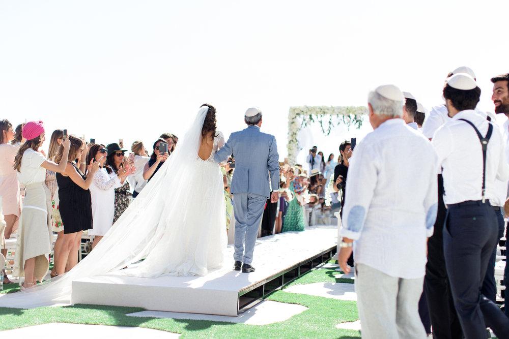 french-jewish-wedding-dress-ceremony-chuppah-canopy-flower-design-greenery-event-planning-silkentile-mykonos-greece